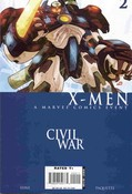 Civil War: X-Men  #2 cover