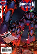 Decimation: House of M - The Day After  #1 cover