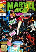Marvel Age #94 cover
