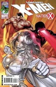 Uncanny X-Men #515 cover