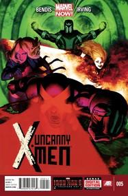 Uncanny X-Men v3 #5 cover