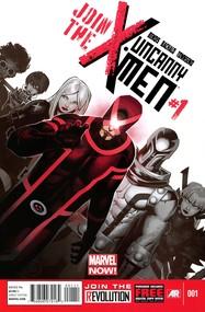 Uncanny X-Men v3 #1 cover