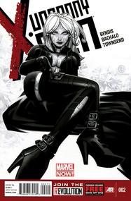 Uncanny X-Men v3 #2 cover