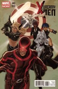 Uncanny X-Men v3 #3 cover