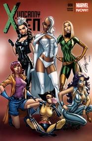 Uncanny X-Men v3 #8 cover