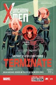 Uncanny X-Men v3 #11 cover