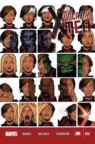 Uncanny X-Men v3 #14 cover