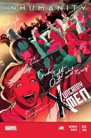 Uncanny X-Men v3 #15 cover