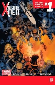 Uncanny X-Men v3 #19 cover