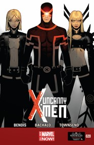 Uncanny X-Men v3 #20 cover