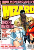 Wizard #199 cover