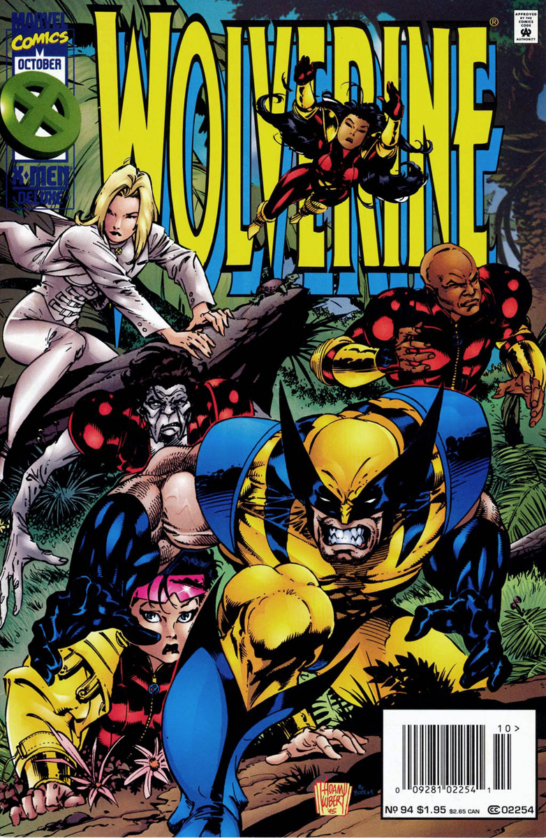 Wolverine Comic Book Covers