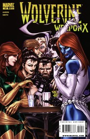 Wolverine: Weapon X #10 cover
