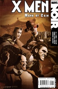 X-Men Noir: Mark Of Cain #1 cover
