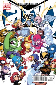 A-Babies vs. X-Babies #1 cover