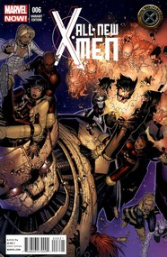 All-New X-Men #6 cover