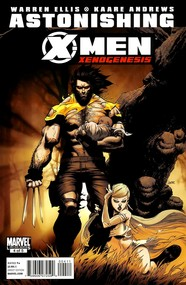 Astonishing X-Men: Xenogenesis #4 cover