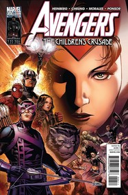 Avengers: The Children's Crusade #6 cover