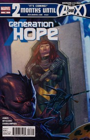 Generation Hope  #16 cover