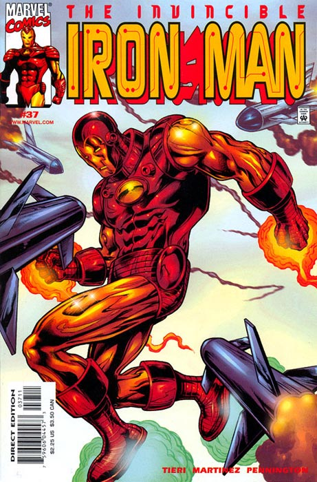 Iron Man #37 – Issues • Emma Frost Files