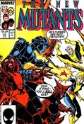 New Mutants #53 cover