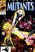 New Mutants #54 cover