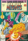 New Mutants Annual #4 cover