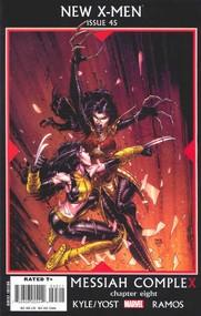 New X-Men v2 #45 cover