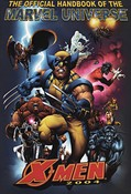 Official Handbook of the Marvel Universe - X-Men #1 cover