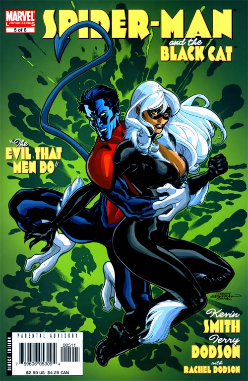 Spiderman And Black Cat The Evil That Men Do