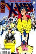 Uncanny X-Men #318 cover