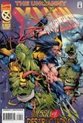 Uncanny X-Men #324 cover