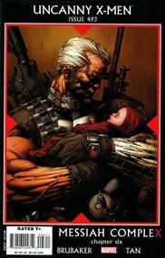 Uncanny X-Men #493 cover