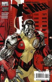 Uncanny X-Men #507 cover