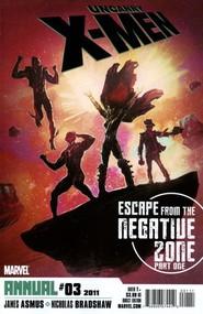 Uncanny X-Men Annual #3 cover