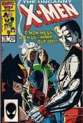 Uncanny X-Men #210 cover
