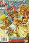 Uncanny X-Men #313 cover