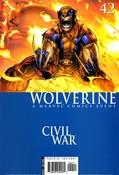 Wolverine v4 #42 cover