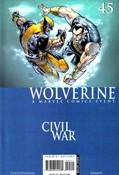 Wolverine v4 #45 cover