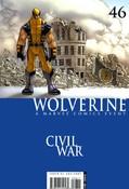 Wolverine v4 #46 cover