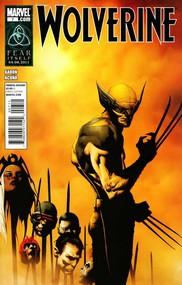 Wolverine v4 #7 cover