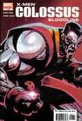 X-Men: Colossus Bloodline #1 cover