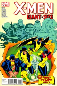 X-Men: Giant Size #1 cover