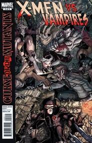 X-Men: Curse of the Mutants - X-Men Vs. Vampires  #2 cover