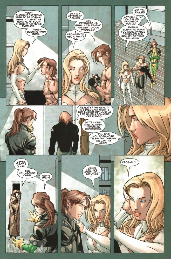 X Men Bizarre Love Triangle 18