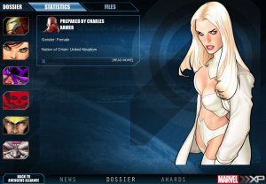 Marvel XP: Emma Frost Dossiere