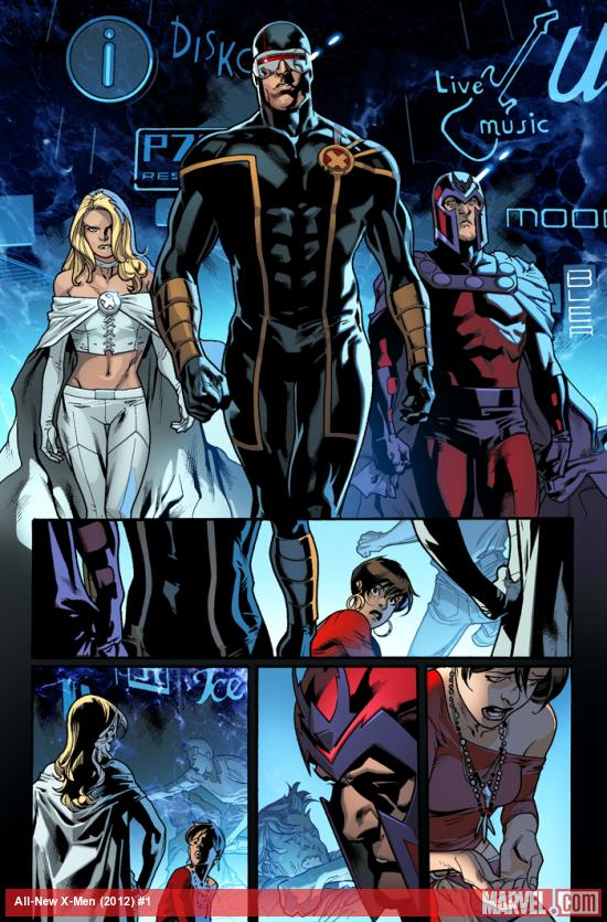 Emma Frost in All New X-Men #1