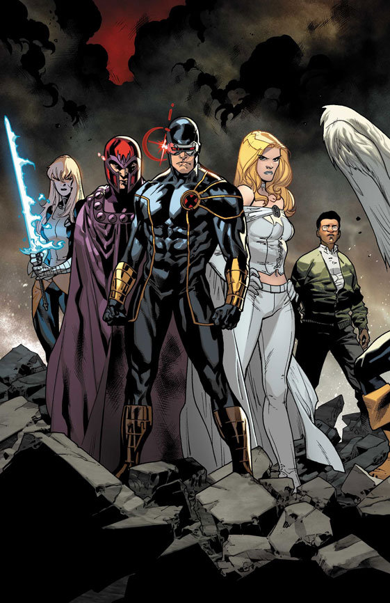 All New X-Men #1: Cyclops, Emma Frost, Magneto, Magik