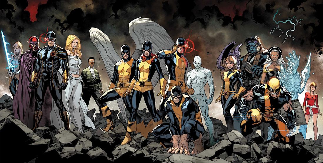 All New X-Men #1 spread
