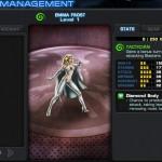 Avengers Alliance: Emma Frost stats